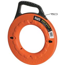 KLEIN TOOLS 56002, FISH TAPE - FLAT-STEEL - FISH TAPE - 60' 56002