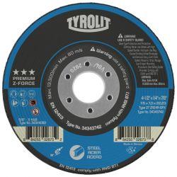 """DISC-GRINDING CERAMIC ZA24BFX - 5"""" X 1/4"""" X 7/8"""""""