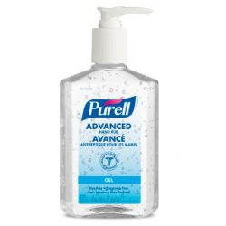 GOJO 9652-12-CAN00, HAND SANITIZER-PURELL 8 OZ. - C/W PUMP 9652-12-CAN00