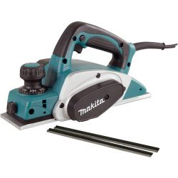 "MAKITA KP0800KX, PLANER - 3-1/4"" WITH CARRYING - CASE AND EXTRA SET OF BLADES KP0800KX"