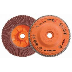 """WALTER SURFACE TECHNOLOGIES 06A452, 4-1/2"""" X 5/8""""-11 SPIN-ON - 36/60G TURBO FLEX FLAP DISC 06A452"""