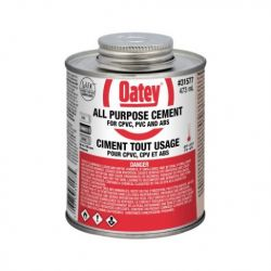 OATEY 31577, CEMENT ALL PURPOSE 473ML - ABS/PVC/CPVC 31577