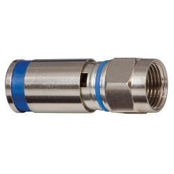 KLEIN TOOLS VDV812623, COMPRESSION CONNECTOR F-RG6/6Q - 10/PK - VDV812623