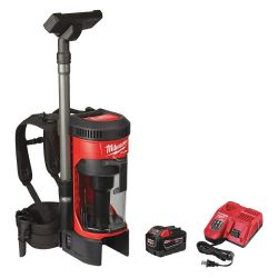 MILWAUKEE 0885-21HD, BACKPACK VACUUM KIT - M18 FUEL 3-IN-1 0885-21HD