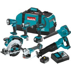 MAKITA 302254381, COMBO KIT 7 PC - 18V LI-ION - 302254381
