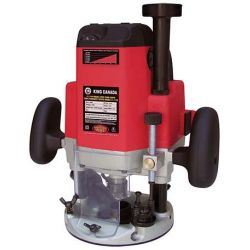 KING TOOLS 8367, VARIABLE SPEED PLUNGE ROUTER - 3-1/4HP 110V 8367