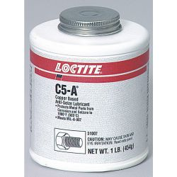 HENKEL LOCTITE 51147, ANTI-SEIZE C5A 8 OZ - BRUSH TOP COPPER BASED 51147