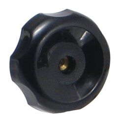 "ROK 44114, KNOB - THROUGH HOLE 1/4"" - THREAD 44114"