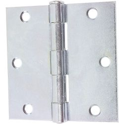 "WFS APPROVED 3HTV2, HINGE - 3"" X 3"" NON-TEMPLATE - PLATED W/ SCREW HOLES 3HTV2"