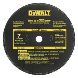 DEWALT DW4712, WHEEL 7 X 3/32 X 5/8 - HI-PERF MASONARY DW4712