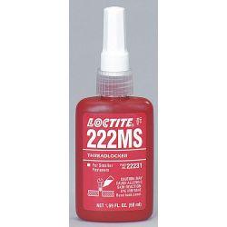 HENKEL LOCTITE 22231, THREADLOCKER-#222 MS 50 ML - BOTTLE LOW STRENGTH 22231