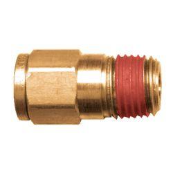 FAIRVIEW PC68-4A, PRESTOLOCK-MALE CONNECTOR - 1/4 X 1/8 TUBE X MPT 68-PL-4-2 PC68-4A