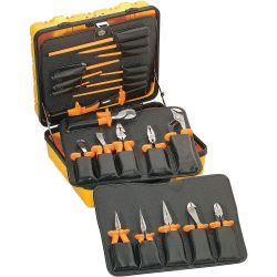 KLEIN TOOLS 33527, GENERAL-PURPOSE INSULATED TOOL - KIT 33527