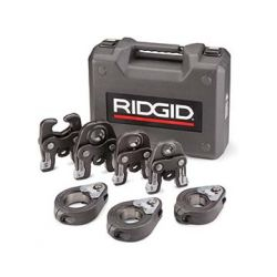 "RIDGID 48553, MEGAPRESS KIT 1/2 - 2"" W/CASE - 1/2-1"" JAWS, 1-1/2-2"" RINGS 48553"