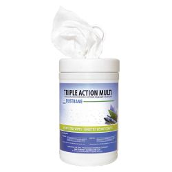 DUSTBANE 53376, TRIPLE ACTION - DISINFECTING - WIPES 120/CTNR CFIA APPROVED 53376
