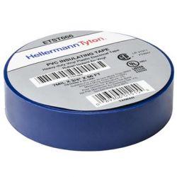 HELLERMANNTYTON TST66-06, TAPE-ELECTRICAL BLUE - 18MM X 20 M (3/4 X 66 FT) - TST66-06