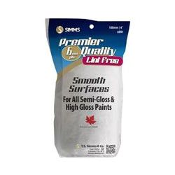 """TS SIMMS & CO. 058391000918, COVER-PAINT ROLLER 4"""" X 1/4 - A-091 SMOOTH MOBLEND - 058391000918"""