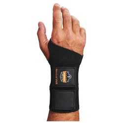 ERGODYNE 675S, WRIST SUPPORT 675 SMALL - TWO STRAP AMBIDEXTROUS - 675S