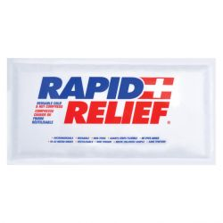 SAFECROSS FIRST AID 14281, HOT/COLD PACK 5 X 10 - REUSABLE - 14281
