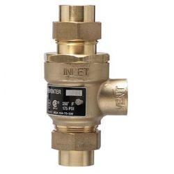 WATTS WATER TECHNOLOGIES 0062025, VALVE-DUAL CHECK 9D BACKFLOW - PREVENTER 1/2 NPTF X 1/2 NPTF 0062025