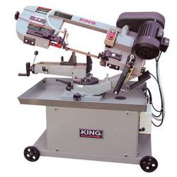"KING TOOLS KC-712DS, 7"" X 12"" METAL CUTTING DUAL - SWIVEL BANDSAW KC-712DS"