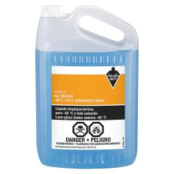 TOUGH GUY 40W378, WINDSHIELD WASHER FLUID -40 3.78L 40W378