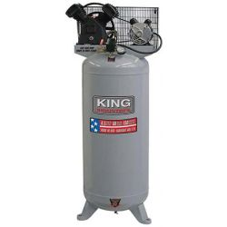 KING TOOLS KC-6160V1, 60 GAL AIR COMPRESSOR,6.5HP - STATIONARY OIL LUBRICATED PUMP KC-6160V1