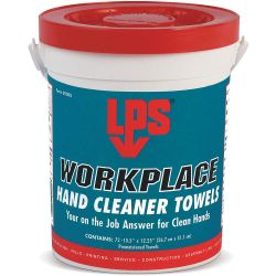 ITW PRO BRANDS LPS C09200, HAND CLEANER-SCRUBBING WIPES - 72 WIPES/PAIL C09200