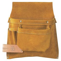 KLEIN TOOLS 42245, NAIL/SCREW & TOOL POUCH - RIGHT POUCH ONLY - 42245
