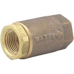 "WATTS WATER TECHNOLOGIES 0555180, CHECK VALVE-INLINE NO LEAD - 2"" THREAD VERTICAL 125SWP 0555180"