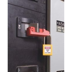 MASTER LOCK 491B, CIRCUIT BREAKER LOCKOUT - TALL AND WIDE TOGGLES - 491B