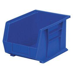 """AKRO-MILS 30239BLUE, AKRO BIN BLUE - 8-1/4""""W X 7""""H X 10-3/4""""L 30239BLUE"""