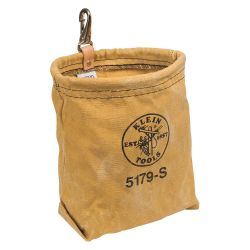 KLEIN TOOLS 5179S, CANVAS TOOL POUCH - WATER - REPELLANT W/ BELT LOOPS - 5179S