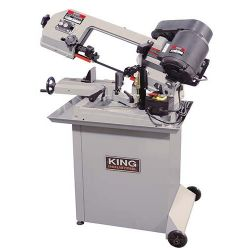 "KING TOOLS KC-129DS, 5"" X 6"" DUAL SWIVEL METAL - CUTTING BANDSAW 8AMP 110V KC-129DS"