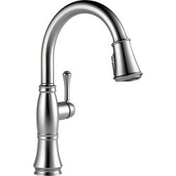 MASCO DELTA 9197-AR-DST, KITCHEN FAUCET-CASSIDY SGL HDL - PULL DOWN-ARCTIC STAINLESS 9197-AR-DST