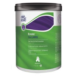 SHERWIN WILLIAMS KRESTO KCW70W, HAND WIPES-WATERLESS KRESTO - CHERRY SCENTED 70 CT KCW70W