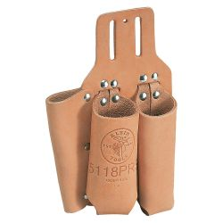 KLEIN TOOLS S5118PRS, TOOL HOLDER - PLIERS, RULE, - SCREWDRIVER W/2-WAY KNIFE SNAP S5118PRS