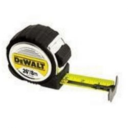 "DEWALT DWHT33388L, 26'/8MX1-1/4"" TAPE RULE DWHT33388L"