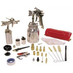 KING TOOLS 8195, PNEUMATIC SPRAY GUN KIT - 43PCS KING CANADA - 8195