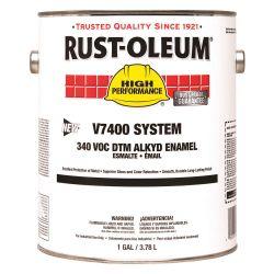 RUST-OLEUM 245479, PAINT-ENAMEL LOW VOC - 1 GAL GLOSS SAFETY YELLOW 245479