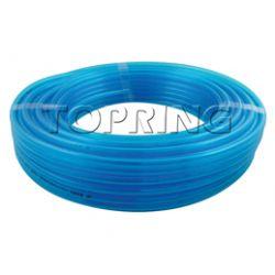 TUBING-POLYURETHANE CLEAR BLUE