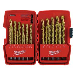 MILWAUKEE 48-89-0012, TITANIUM COATED DRILL BITS - 29 PC SET #48-89-0012