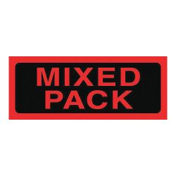 """ACCUFORM SIGNS MPC056PS5, MIXED PACK LABELS 2"""" X 5"""" - 500/RL MPC056PS5"""