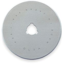 OLFA RB60-5, OLFA-BLADES ROTARY STEEL 60MM - RB60-5 TUNGSTEN TOOL (5/PKG) - RB60-5