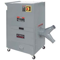KING TOOLS KC-7300C, DUST COLLECTOR 2 HP METAL - 220V MOTOR 1 PHASE 60 HZ KC-7300C