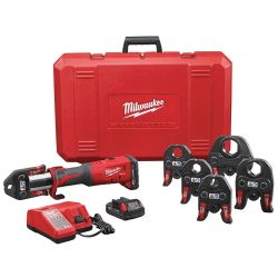 "MILWAUKEE 2773-22, PRESS TOOL KIT M18 - FORCE LOGIC 1/2"" - 2"" JAWS 2773-22"