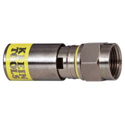 KLEIN TOOLS VDV812606, COMPRESSION CONNECTOR - UNIVERSAL/F/RG6/6Q 10/PK - VDV812606