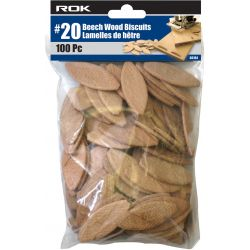 ROK 56104, BISCUITS IN BAG #20 100 PC 56104