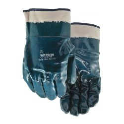 WATSON GLOVES 9N660, GLOVE- TOUGH AS NAILS THINS - LINED NITRILE COATED 9N660