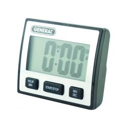 GENERAL TOOLS TI110, JUMBO DISPLAY WATERPROOF TIMER TI110